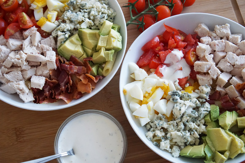 Low-Carb Cobb Salad Recipe