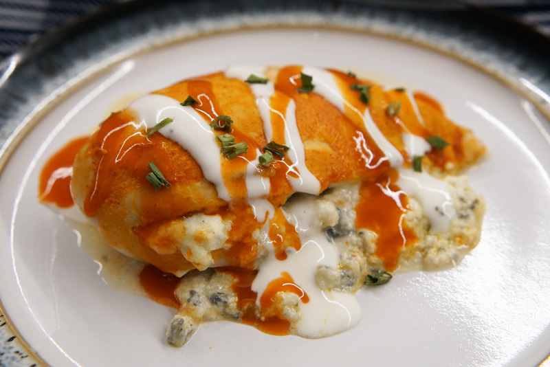Buffalo Stuffed Chicken