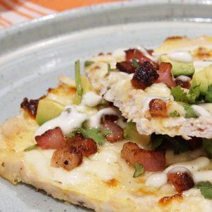 Ground Chicken Pizza Crust