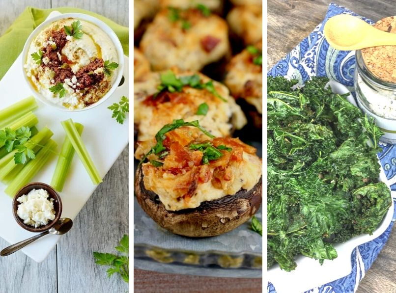 30 Healthy Low Carb Snacks