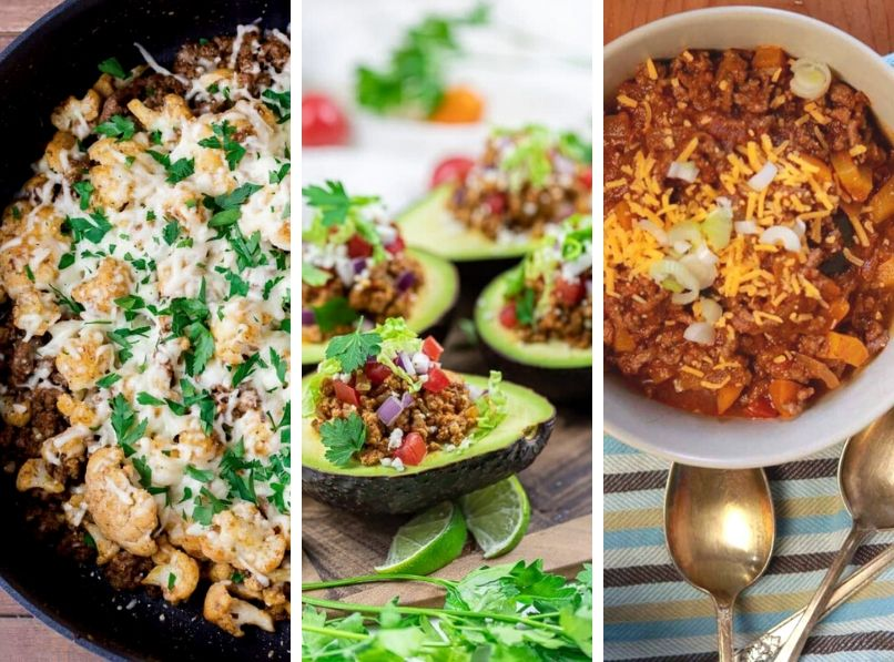 15 Easy Low Carb Ground Beef Recipes