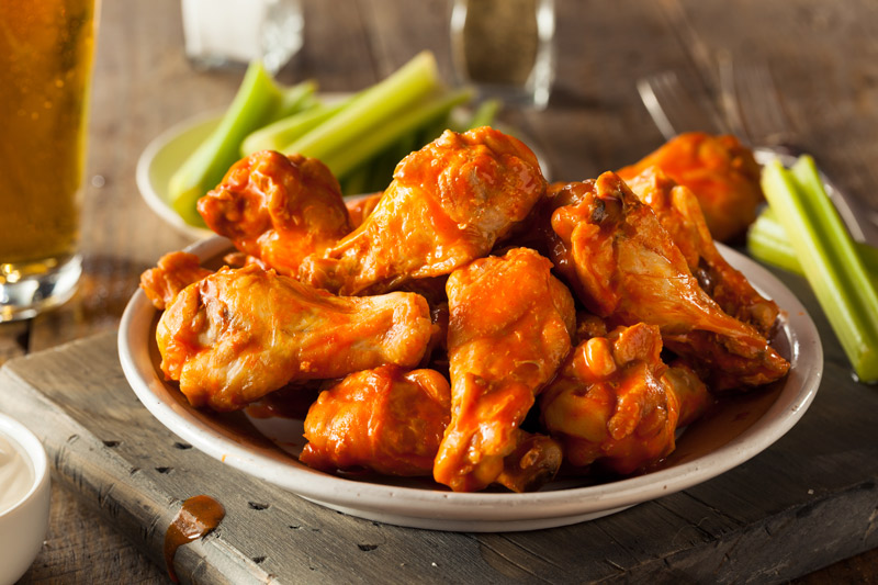Keto Buffalo Chicken Wings