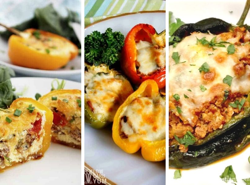 9 Tasty Keto Stuffed Pepper Recipes