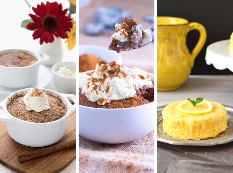 8 Keto Mug Cakes to Satisfy Your Cravings