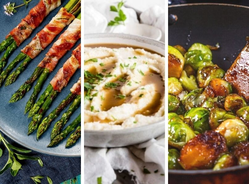 20 Keto Friendly Side Dishes for the Holidays