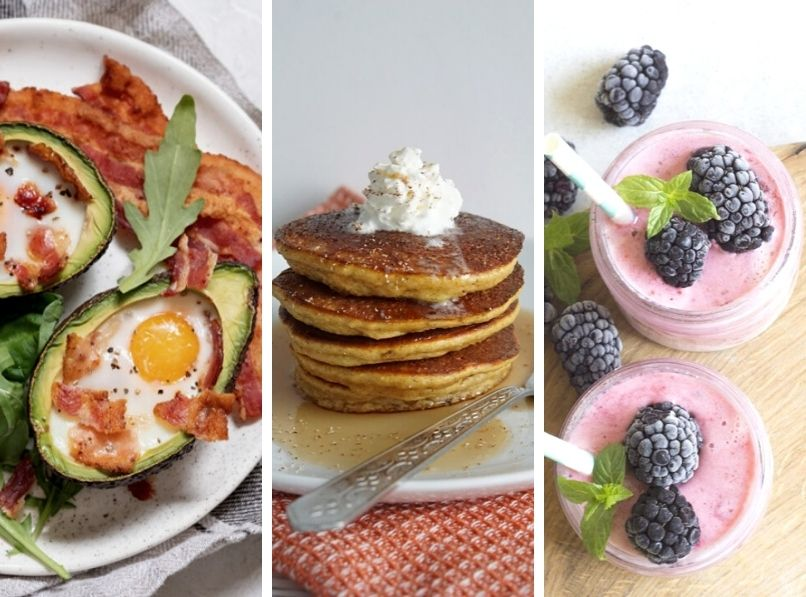 12 Keto / Low Carb Breakfast Ideas