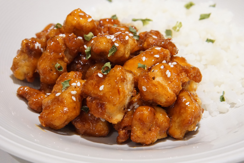 Keto Orange Chicken (Only 4 Net Carbs!)