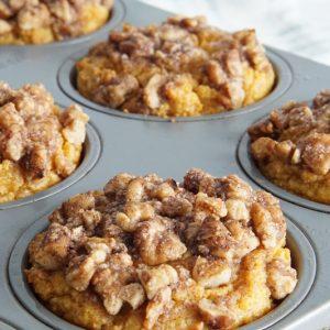 keto pumpkin muffins