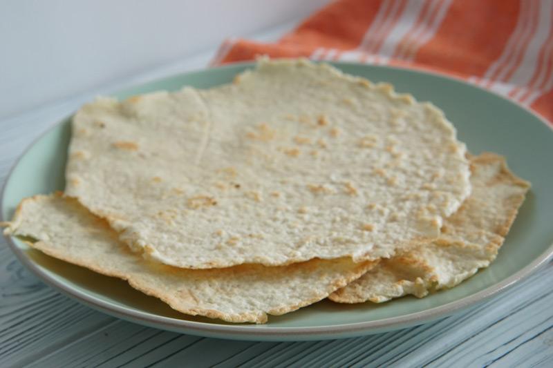 Homemade Keto Tortillas