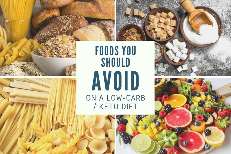 Foods to Avoid on a Low-Carb or Keto Diet