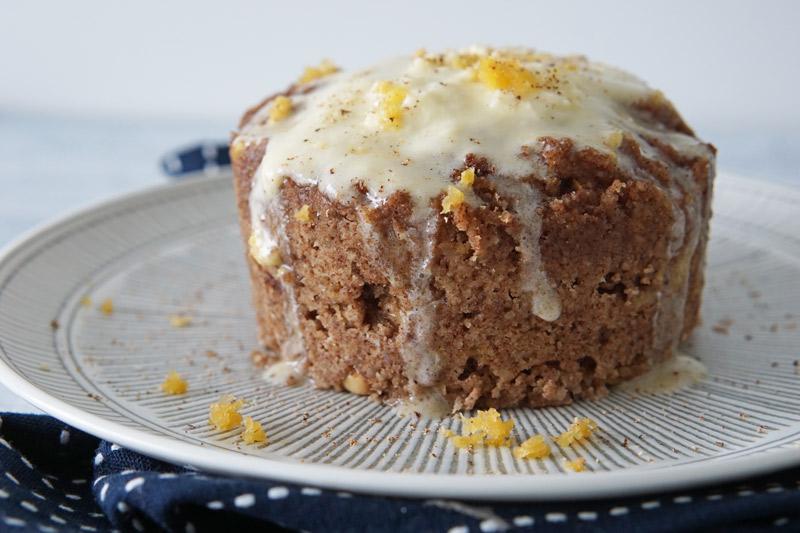 Low-Carb Carrot Mug Cake