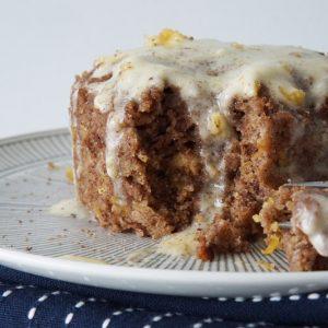 Low Carb Carrot Mug Cake
