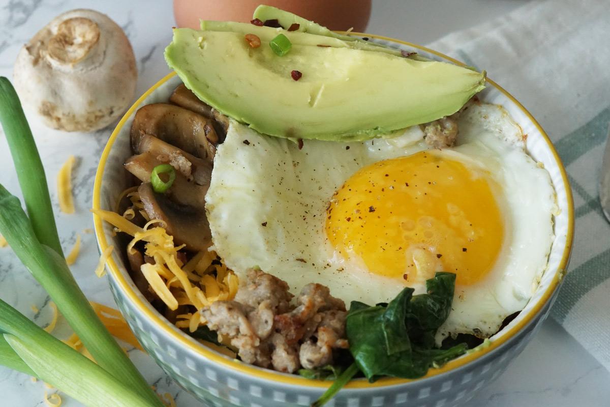 Keto Breakfast Bowls