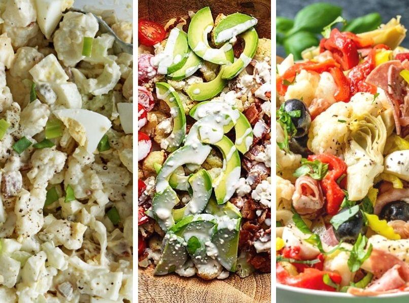 16 Keto Low Carb BBQ Sides & Salads