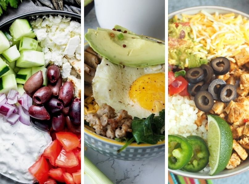 12 Low Carb and Keto Bowl Recipes